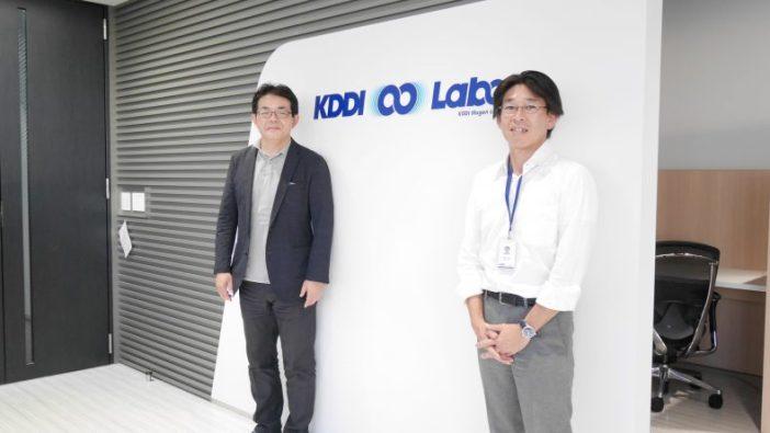 KDDI 신규비지니스추진 본부 에바타 토모히로 부장 (왼쪽), 글로벌브래인 유리모토 야스히코 대표(오른쪽)
