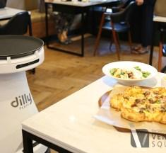 로봇은 피자 배달중 '딜리 플레이트'