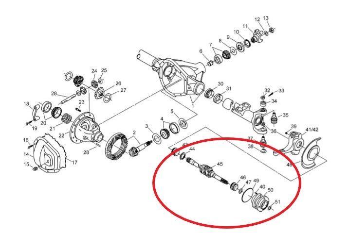 ford super duty parts diagram