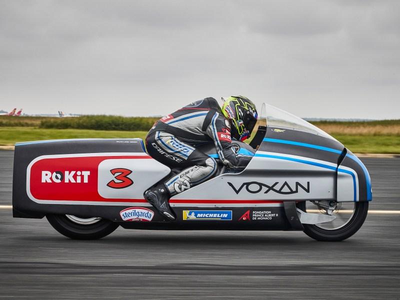 Voxan et Max Biaggi repartent à l'assaut de nouveaux records du monde de vitesse
