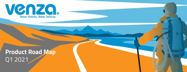 VENZA Product Road Map Q1 2021