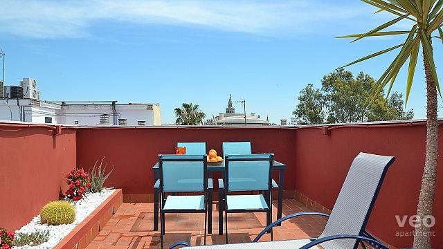 Sevilla Apartmento Calle Pureza Sevilla Espaa  Triana Terraza  Alquiler de apartamento por temporadas
