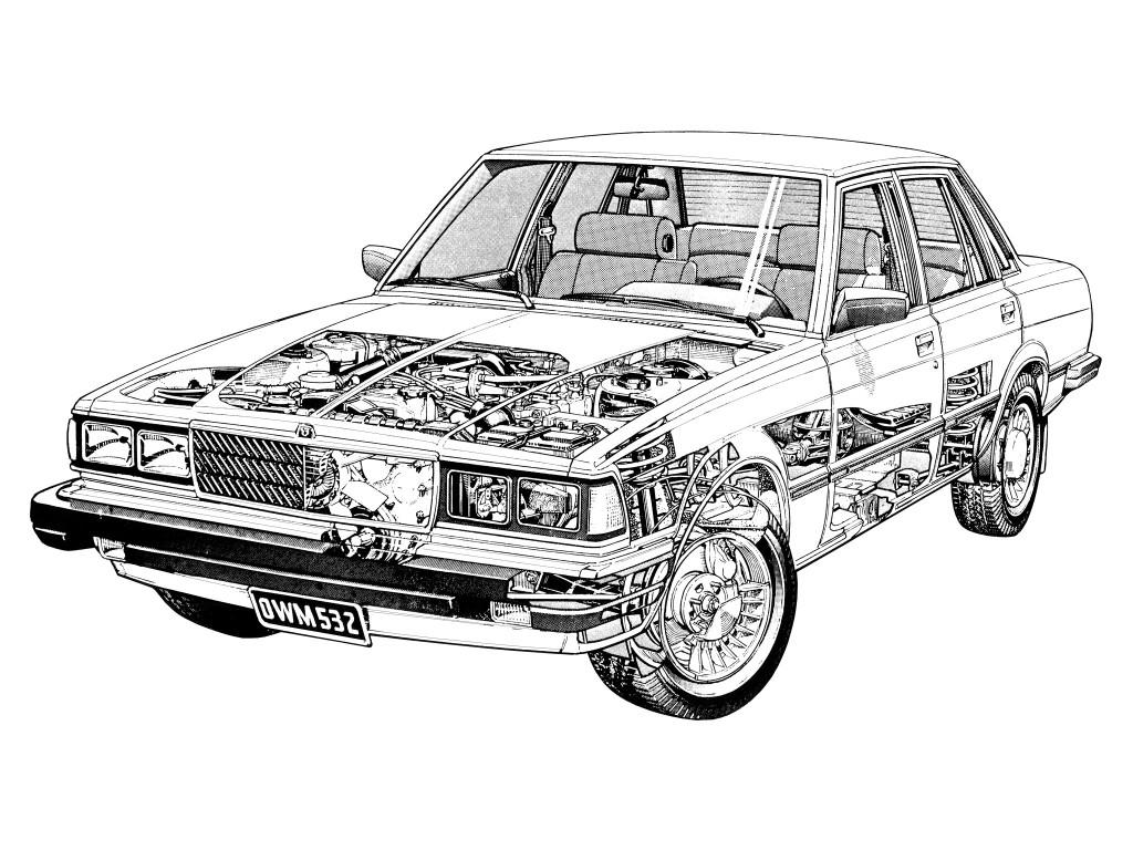 Toyota Cressida de 2da Generación: Símbolo de los