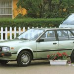 Nissan Sunny B11 Station Wagon Catalogo 1989 Veoautos Cl