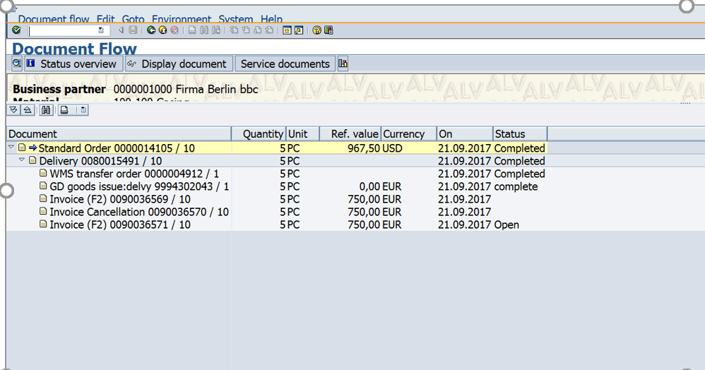SAP Document Flow  Understanding the basics with examples