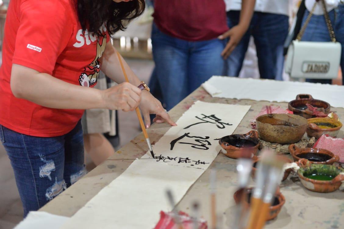 Muestra Sedecop riqueza arqueolgica a delegacin china