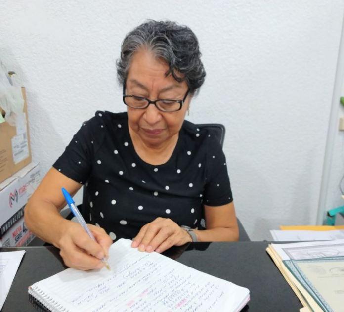 Isaura Alcántara Sosa, directora del Registro Civil de Minatitlán
