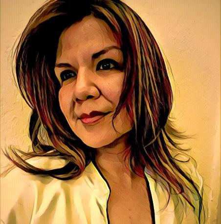 Brenda Caballero, columnista.