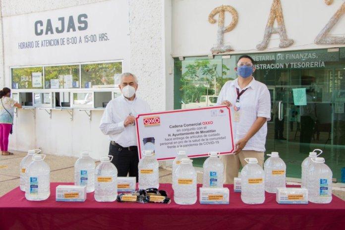 Colaboran Ayuntamiento y OXXO en lucha contra COVID-19