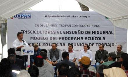 Respaldo a modelo de programa Acuícola 2018:Tuxpan