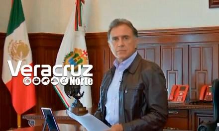Mensaje del Gobernador de Veracruz: Miguel Ángel Yunes Linares (VIDEO)