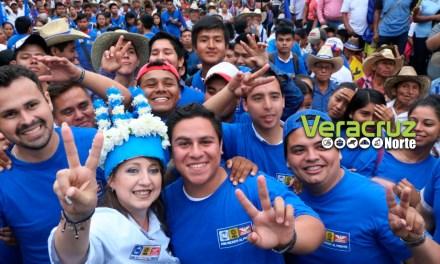 Apuesta Judith Pineda a los jóvenes para mejorar Veracruz