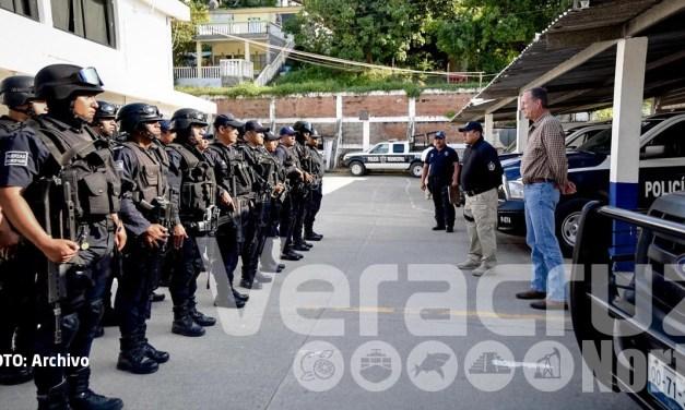 Filtro antidoping a Policías Municipales en Tuxpan