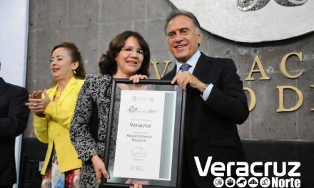 Recibe Veracruz el primer lugar al Máximo Esfuerzo a Nivel Nacional en salud