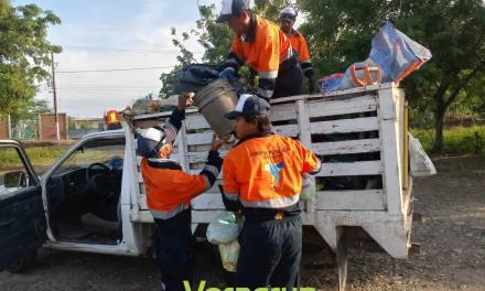 Limpia Pública instala nuevos cestos de basura