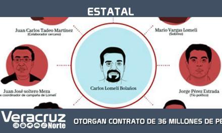 CONTRATO DE 36 MILLONES DE PESOS A EMPRESA MORENISTA