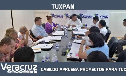 CABILDO APRUEBA PROYECTOS TRASCENDENTALES PARA TUXPAN
