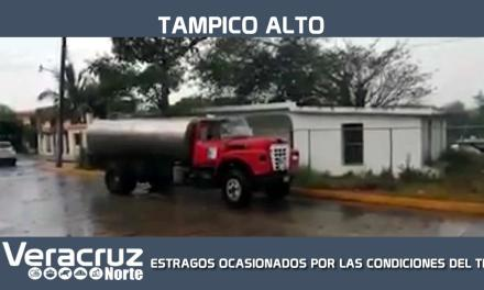 ESTRAGOS OCASIONADOS POR LAS CONDICIONES DEL TIEMPO