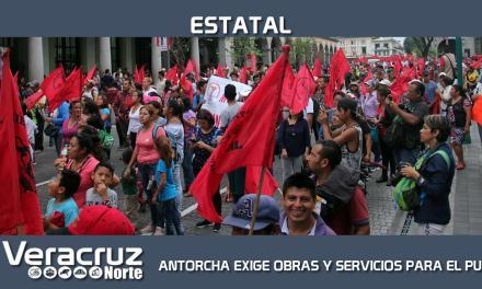 EXIGEN OBRAS Y SERVICIOS PARA EL PUEBLO DE VERACRUZ