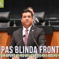 """BLINDA GOBERNADOR DE TAMAULIPAS SU FRONTERA SUR EN APOYO AL """"R3"""" DEL CDG"""