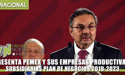 PRESENTA PEMEX PLAN DE NEGOCIOS 2019-2023