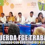 Acuerda FGE trabajo coordinado con Gobierno del Estado en materia de investigación de personas desaparecidas