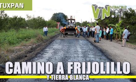 Banderazo camino Frijolillo-Tierra Blanca