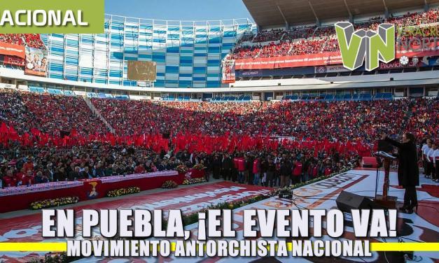 En Puebla, ¡el evento va! – Movimiento Antorchista Nacional