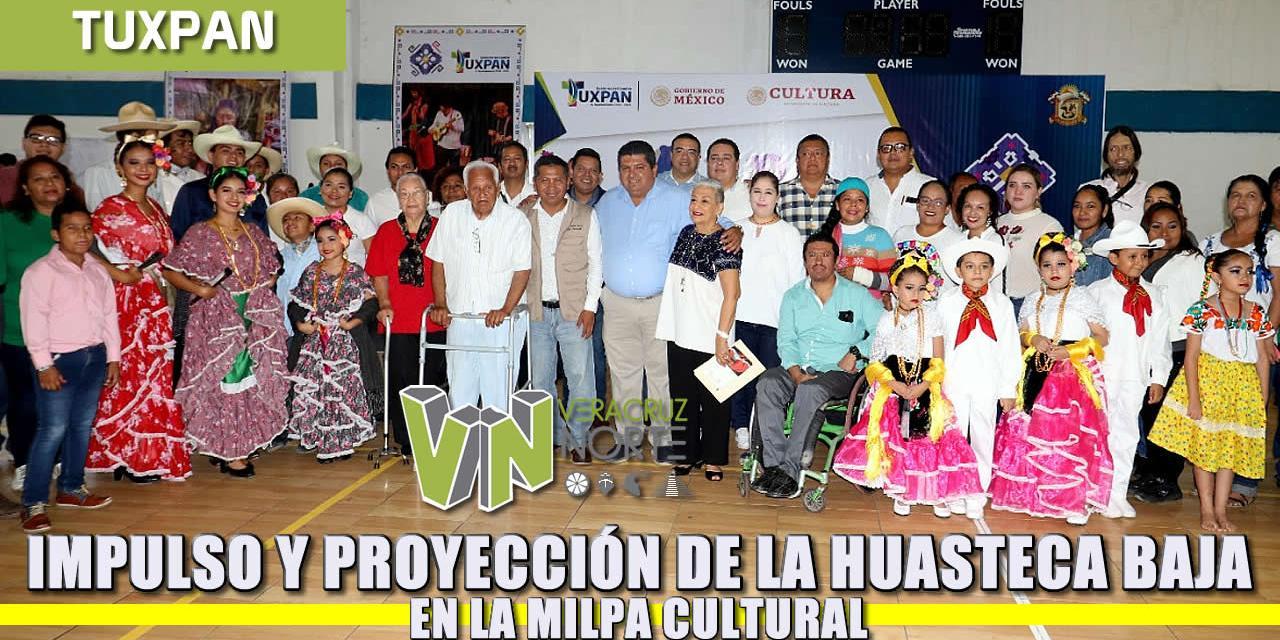 Impulso y proyección de la Huasteca baja en la Milpa Cultural