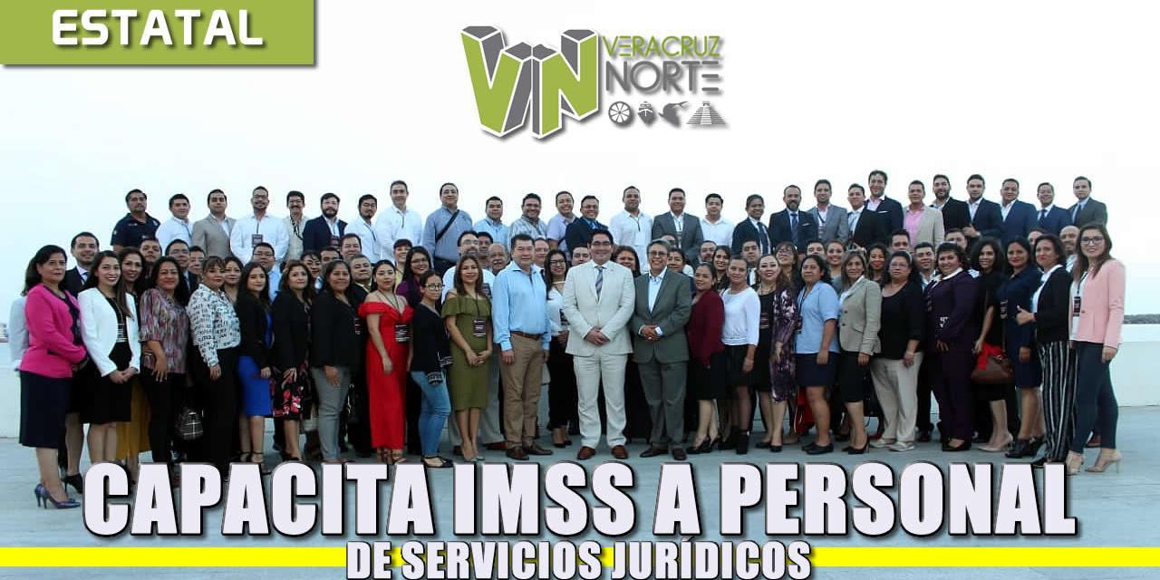 EN REUNIÓN REGIONAL, CAPACITÓ IMSS A SU PERSONAL DE SERVICIOS JURÍDICOS DE 13 DELEGACIONES ESTATALES