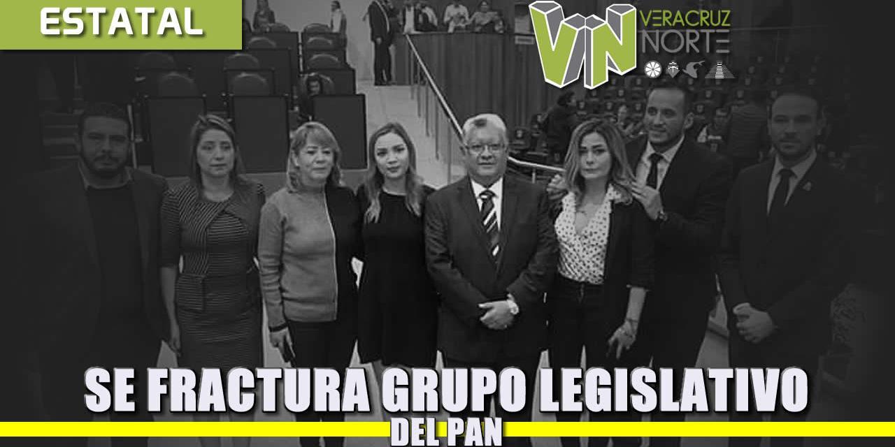 Se fractura el grupo legislativo del PAN