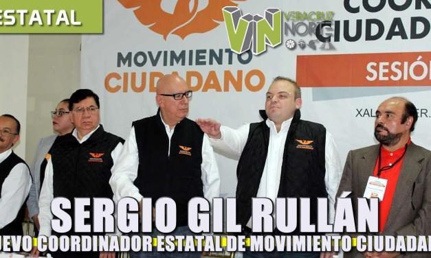 Sergio Gil Rullán, nuevo Coordinador estatal de Movimiento Ciudadano
