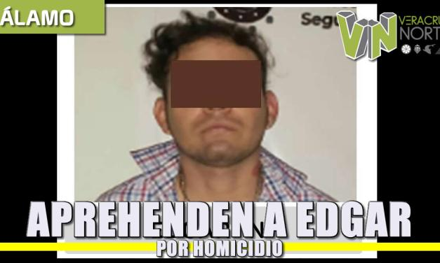 Aprehenden a Edgar «X» por Homicidio