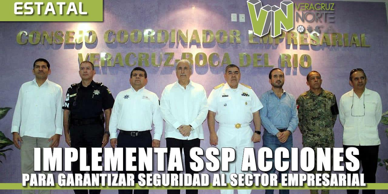 Implementa SSP acciones para garantizar seguridad al sector empresarial