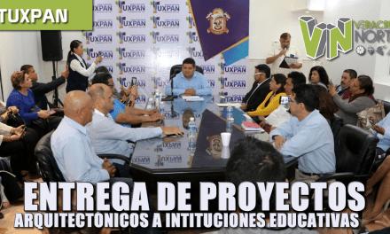 ENTREGA DE PROYECTOS, PLANOS ARQUITECTÓNICOS Y TOPOGRÁFICOS A INSTITUCIONES EDUCATIVAS