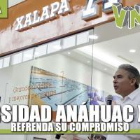 Universidad Anáhuac Xalapa refrenda su compromiso con la juventud del norte del estado