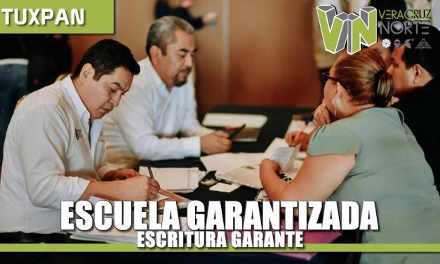 Escuela garantizada, escritura garante