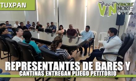Representantes de bares, cantinas y discoteques entregan pliego petitorio para el Consejo Municipal de Salud