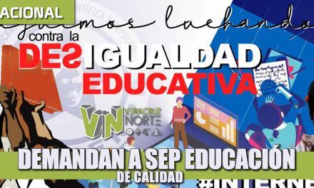 Demandan a SEP educación de calidad