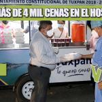 ENTREGAN MÁS DE 4 MIL CENAS EN EL HOSPITAL CIVIL