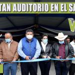 REHABILITAN AUDITORIO EN EL SACRIFICIO