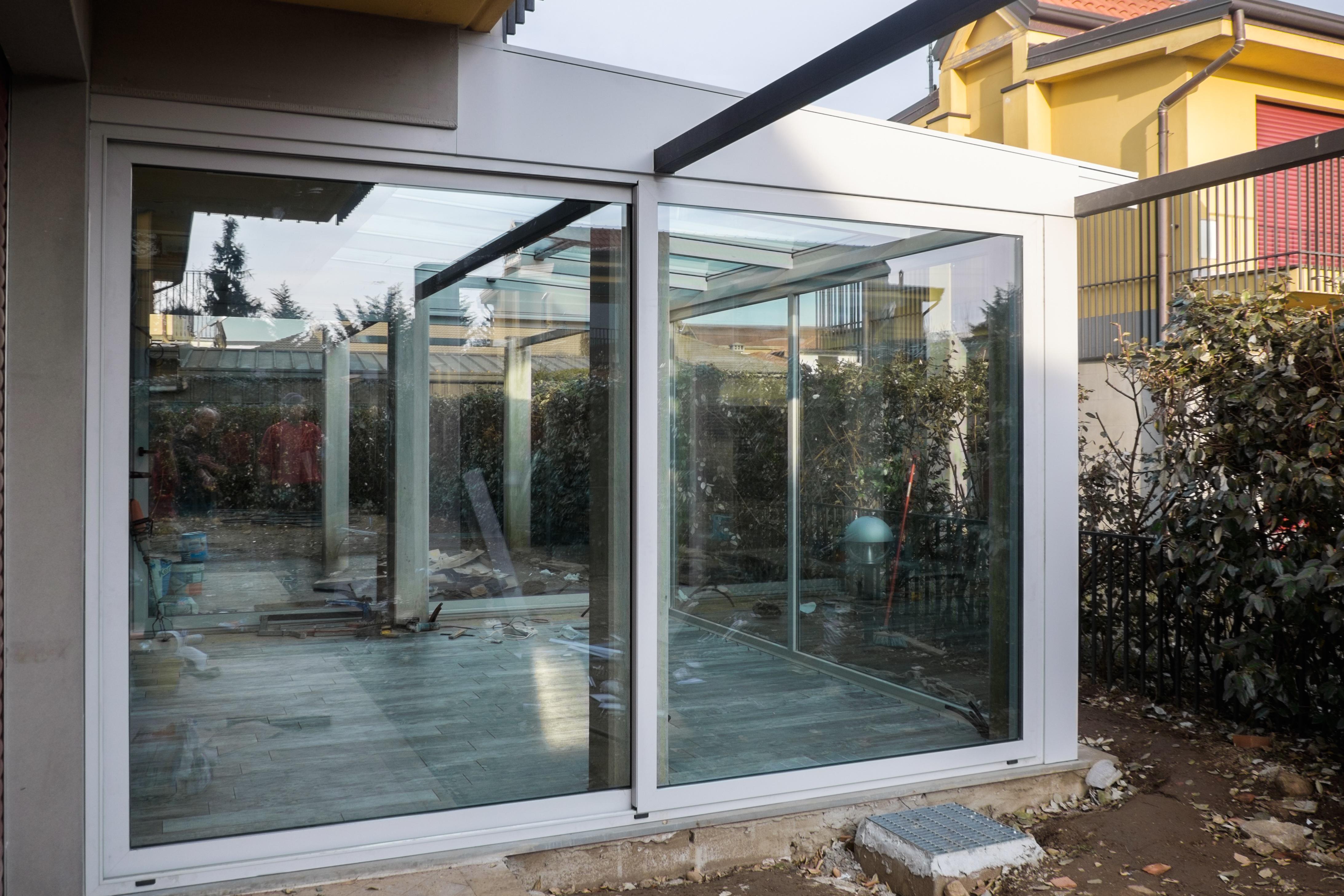 Giardino Dinverno Veranda : Veranda giardino dinverno pavia verande italia