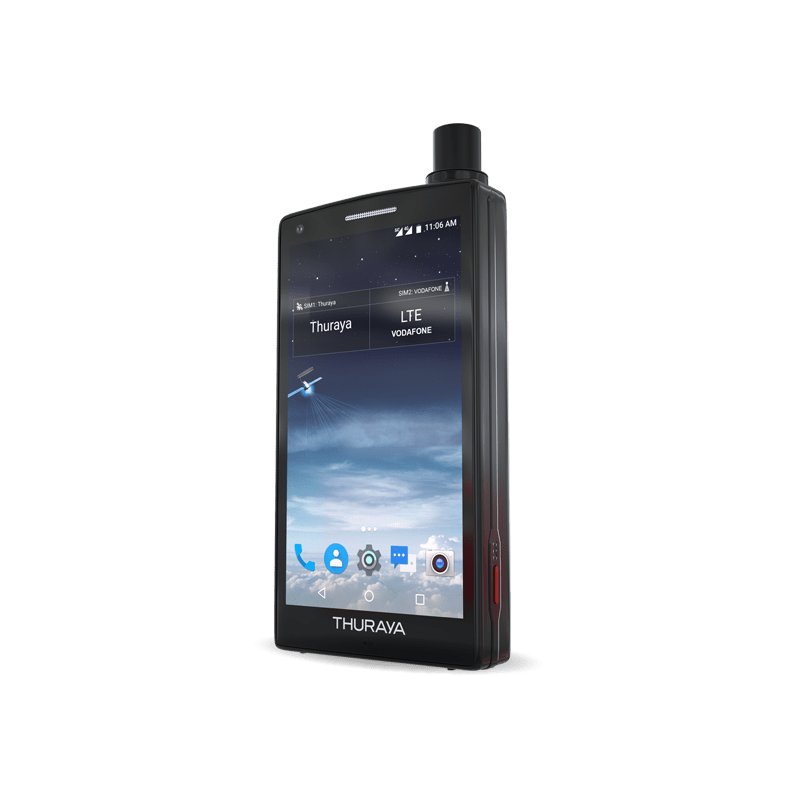 THURAYA X5-TOUCH side