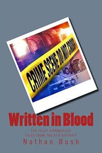 Written In Blood By Nathan Bush, Cover