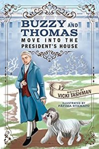 Buzzy and Thomas Move into the President's House by Taahman