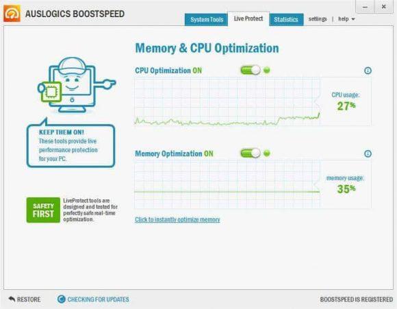 Optimización de memoria y CPU