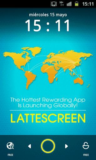 LatteScreen - dinero por desbloquear