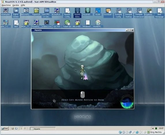 ReactOS un sistema operativo competente