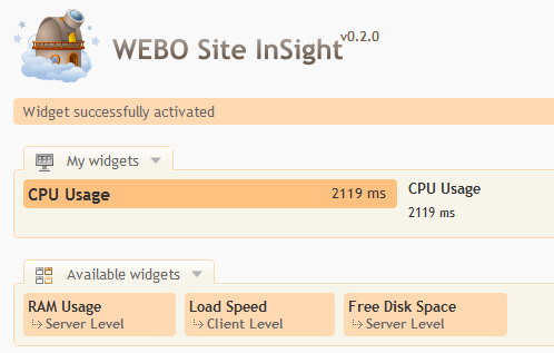 WEBO Site Insight