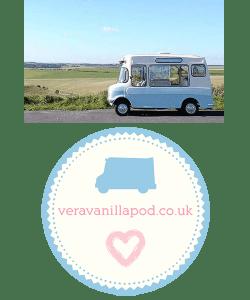 Meet Vera, our 1973 vintage ice cream van